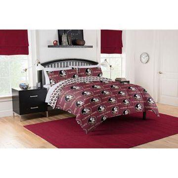 Florida State Seminoles 5-Piece Full Bed in a Bag Comforter Set Multi