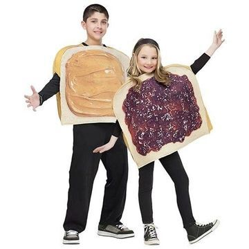Morris Costumes Halloween Party Peanut Butter N Jelly Child