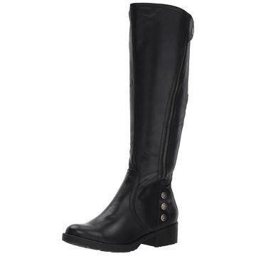 BareTraps Women's Bt Oria Riding Boot, Black, Size 10.0