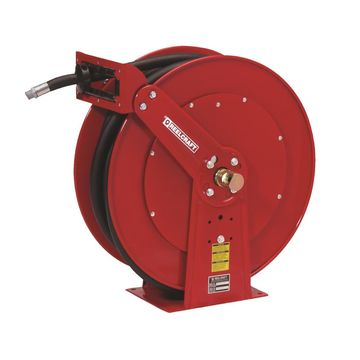 FD84050 OLP 250 PSI 1 x 50 ft. Spring Retractable Fuel Hose Reel