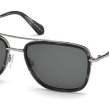 Roberto Cavalli RC 1023 20A Men's Sunglasses Silver Size 57