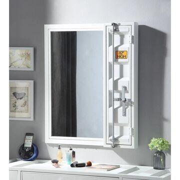 ACME Cargo Vanity Mirror in White