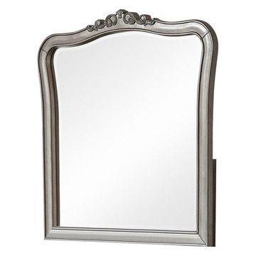 NE Kids Kensington Dresser Mirror in Antique Silver