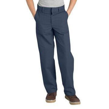 Genuine Dickies Boys School Uniform Classic Fit Straight Leg Flat Front Pants (Little Boys)