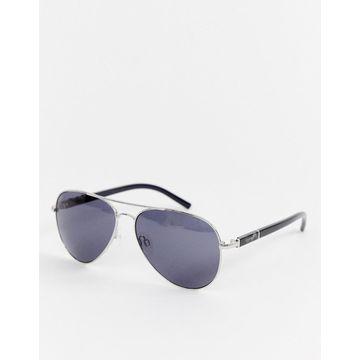 Esprit aviator sunglasses in silver