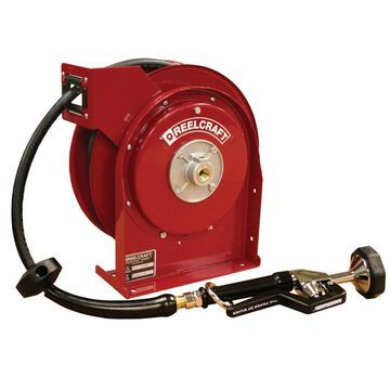 4625 OLPSW5 0.375 in. x 25 ft. Premium Duty 250 PSI Pre-Rinse Water with Hose Reel, Red