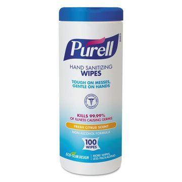 PURELL 12-Count Citrus Hand Sanitizer Wipes
