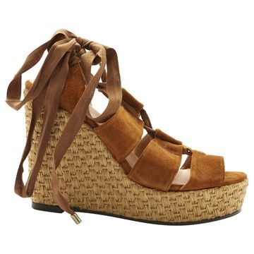 Castaner Brown Suede Sandals