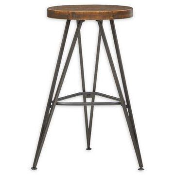 INK+IVY Trestle Bar Stool in Natural
