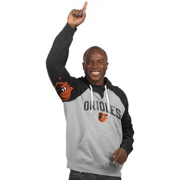 Baltimore Orioles Hands High Pullover Hoodie - Gray