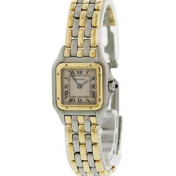 Vintage Cartier Panthere Gold Steel Watches