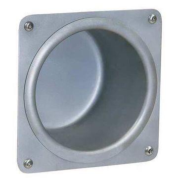 BRADLEY SA12-000000 Toilet Tissue Holder,Recessed,Slvr,SST