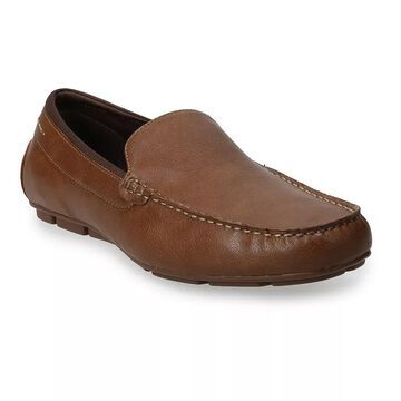 Sonoma Goods For Life Willard Men's Driver Moccasins, Size: 9 Wide, Brown
