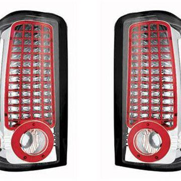 IPCW LED Tail Lights in Crystal Clear