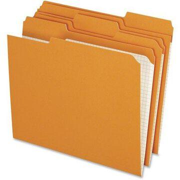 Pendaflex, PFXR15213ORA, Color Reinforced Top File Folders, 100 / Box, Orange