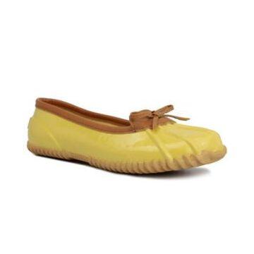 London Fog Women's Webster Ballet Duck Slippers Women's Shoes
