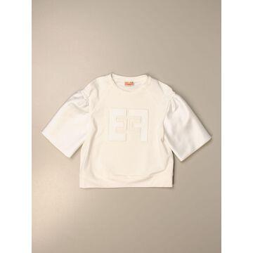 Elisabetta Franchi cotton t-shirt with logo