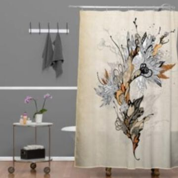 Deny Designs Iveta Abolina Forbbiden Thoughts Shower Curtain Bedding