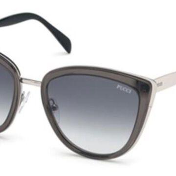 Emilio Pucci EP0092 20B Womenas Sunglasses Grey Size 55