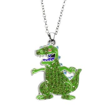 Nickelodeon Reptar Pendant Necklace