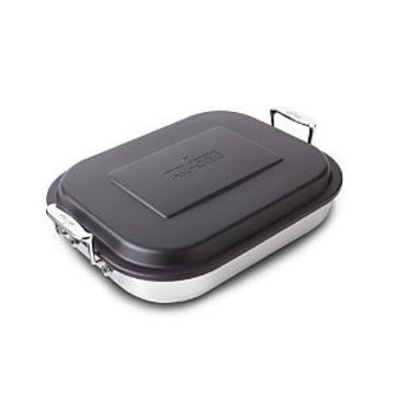 All Clad Stainless Steel Covered Lasagna Pan