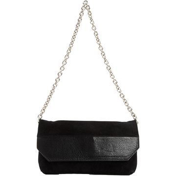 Narciso Rodriguez Black Suede Clutch Bag