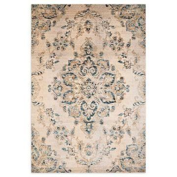 United Weavers Jules Jubilee 5' x 8' Area Rug in Parchment