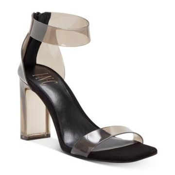 Inc International Concepts Women's Makenna Two-Piece Clear Vinyl Dress Sandals, Created for Macy's Women's Shoes