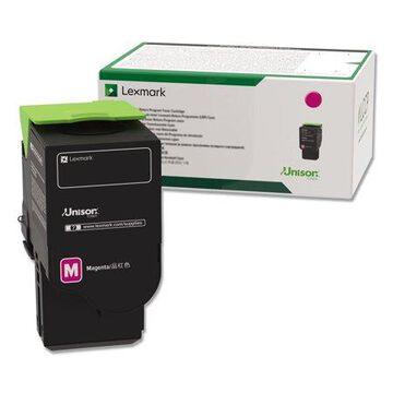 Lexmark, LEX78C1UM0, Magenta Ultra High Yield Return Program Toner Cartridge, 1 Each
