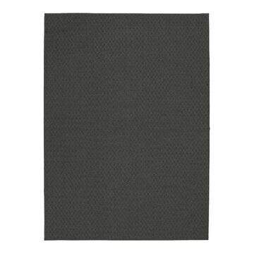 Garland Rug Town Square Solid Area Rug, Grey, 2X5 Ft