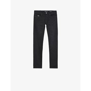 THE Kooples Mens BLA55 Stretch-denim Skinny Jeans 33