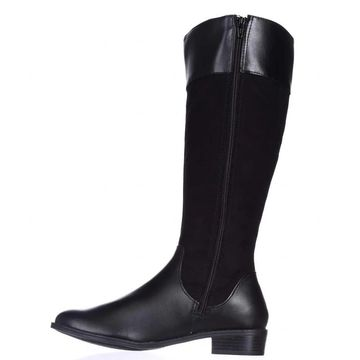 Karen Scott Womens Deliee Almond Toe Knee High Fashion Boots
