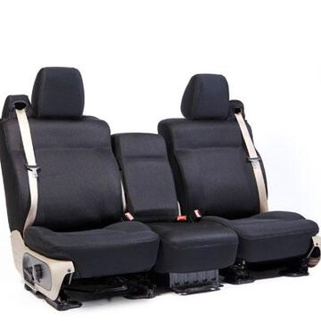 Coverking Molded Mesh Seat Covers in Black