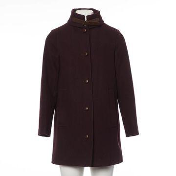 Sessun Burgundy Wool Coats