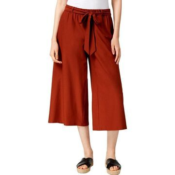 Eileen Fisher Womens Pants Wide Cropped