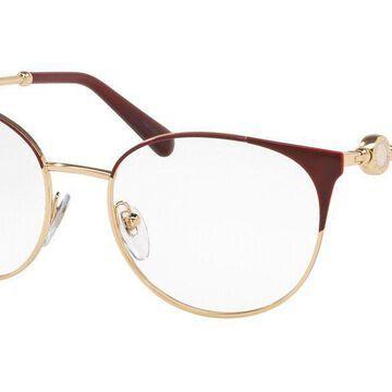 Bvlgari BV2203 2054 Womens Glasses Red Size 52 - Free Lenses - HSA/FSA Insurance - Blue Light Block Available