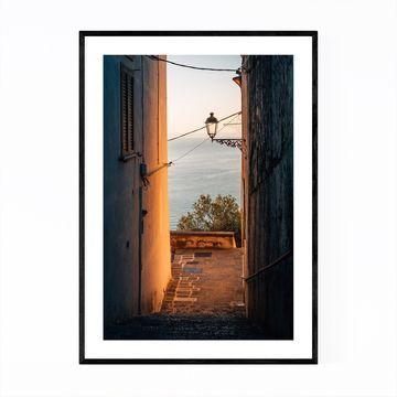 Noir Gallery Minori Amalfi Coast Italy Photo Framed Art Print
