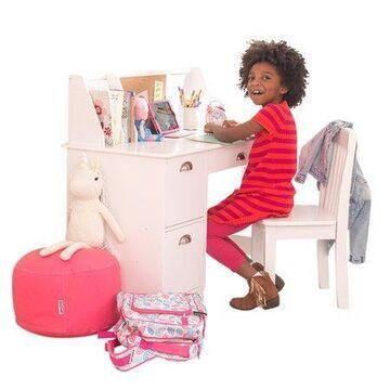 KidKraft Study Desk with Chair - White