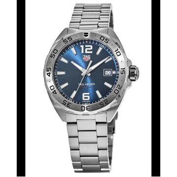 Tag Heuer Formula 1 Quartz Blue Dial Stainless Steel Men's Watch WAZ1118.BA0875 WAZ1118.BA0875