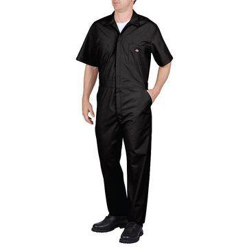 Men's Dickies Regular-Fit Coverall, Size: 4XL BIG, Black