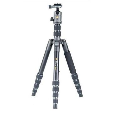 Vanguard VEO 2 GO 265AB Travel Tripod Kit with 5-Section Aluminum Tripod and T-50 Compact Ball Hea