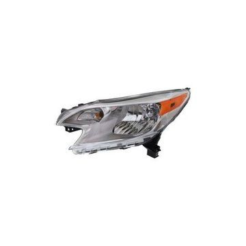 Headlight - Depo Fit/For 8115006470 14-16 Nissan Versa-Note S/S-Plus/SL/SV Left Hand Driver (CAPA-Certified)