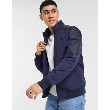 G-Star Meson track jacket in blue-Blues