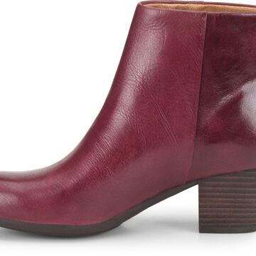 Comfortiva Womens Alandra Leather Round Toe Ankle Fashion