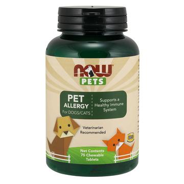 Pet Allergy Now Foods 75 Chewable