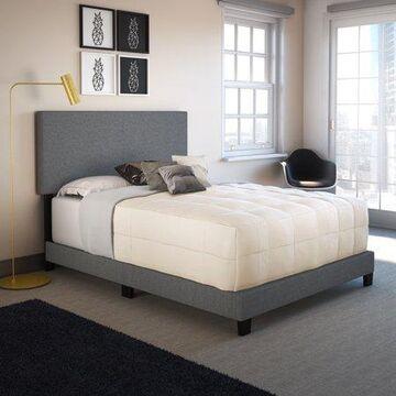 Premier Sutton Upholstered Linen Platform Bed Frame, Multiple Sizes & Colors