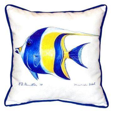 Moorish Idol Small Indoor/Outdoor Pillow, 11