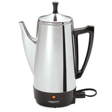 Presto 2 to 12-Cup Stainless Steel Percolator
