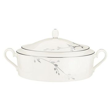 Noritake Birchwood Covered Vegetable Bowl