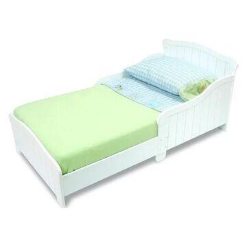 KidKraft Nantucket Wood Toddler Bed in White